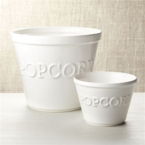popcorn bowls crate  barrel