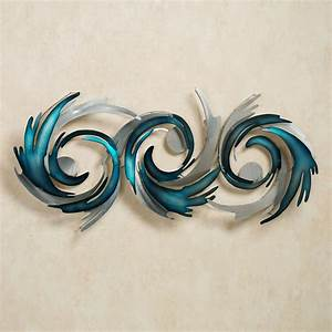 Perfect Storm Metal Wall Sculpture by JasonW Studios