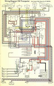 Alternator Wiring Diagram 1974 Vw Bus  Parts  Wiring