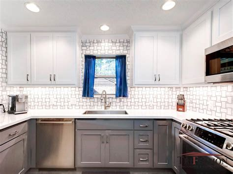 colors  kitchen cabinets trifection