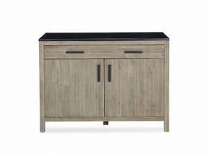 Meuble Avec Plan De Travail : meuble de cuisine bas avec plan de travail de 110 cm ~ Dailycaller-alerts.com Idées de Décoration