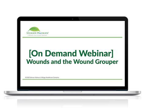 wound wounds webinar grouper demand