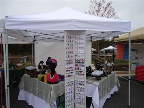 craft show  canopy  walls  weight bags package