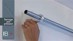 Barre Volet Roulant : ridorail ib tringle rideau pour caisson de volet roulant youtube ~ Voncanada.com Idées de Décoration