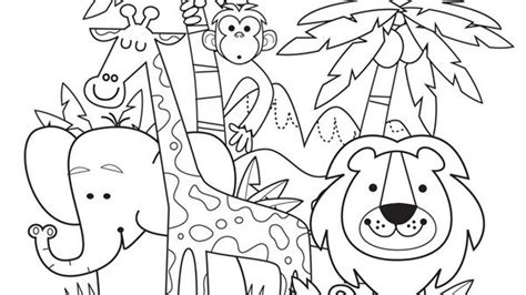 Bringing Our Printable Summer Jungle Animals To