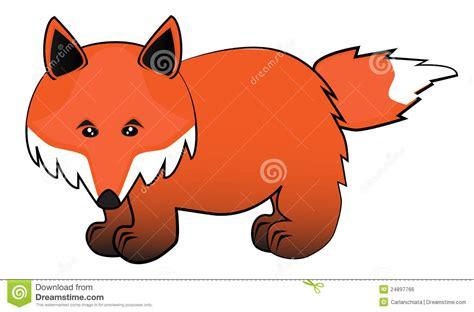 Fox Cartoon Royalty Free Stock Image