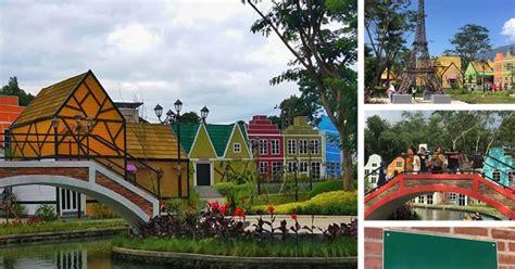 devoyage wisata selfie bertema miniatur kampung eropa