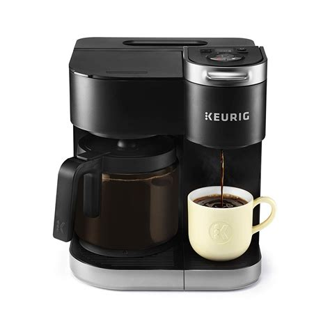 Never again have to worry about throwing away a whole pot of. Keurig K-Duo Coffee Maker, Single Serve and 12-Cup Carafe Drip Coffee Brewer, 611247379837 | eBay