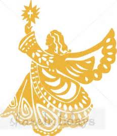 monogram tree topper golden tin christmas angel christmas topper clipart