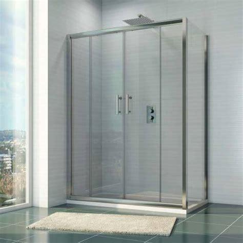 mm  mm double sliding shower door side panel