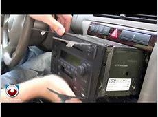 20022005 Audi A6Allroad Symphony II Radio removal YouTube