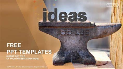 heavy steel anvil  ideas type powerpoint templates