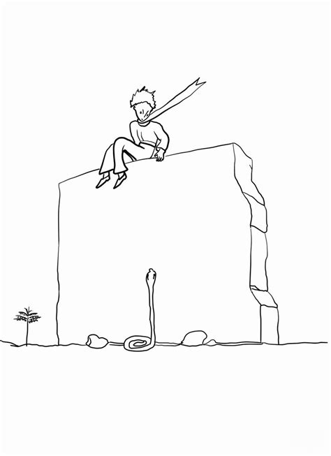 le petit prince coloring pages    print