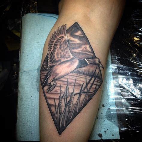 duck tattoos  men masculine waterfowl ink designs