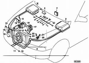 Original Parts For E39 528i M52 Sedan    Heater And Air Conditioning   Economic Air Cond System