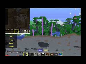MCPE 0.8.0 survival: Caves! Mine shafts jungle map, really ...