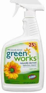 Green works general bathroom cleaner spray 12 30fo tgm123 for Greenworks bathroom cleaner