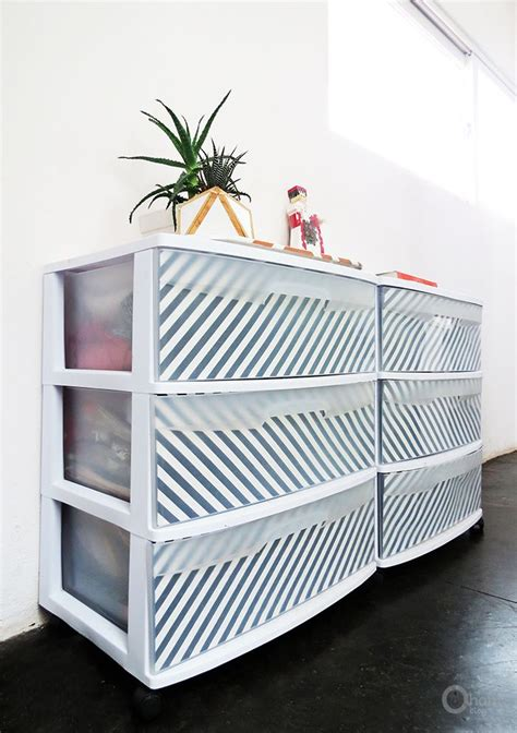 decorating fabric storage bins best 20 decorating plastic drawers ideas on