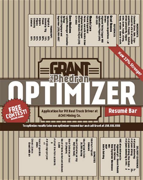 Chocolate Bar Resume by Chocolate Bar Resume On Behance