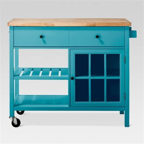 target island kitchen windham wood top kitchen island threshold target 2668