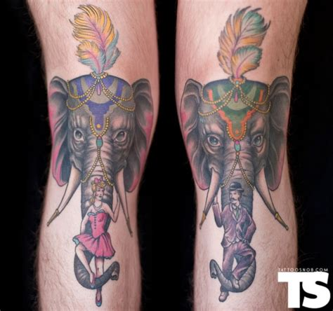 elephant tattoo images and designs
