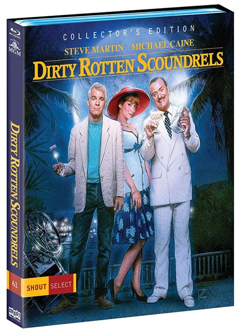 dirty rotten scoundrels blu ray joining shout select