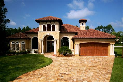 tuscan style  story homes tuscan style house plans exterior home plans pinterest
