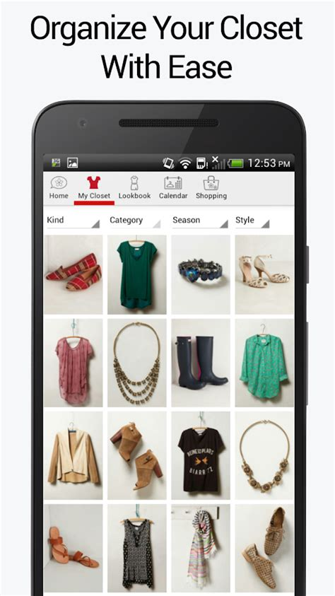 Stylicious  Closet Organizer  Android Apps On Google Play