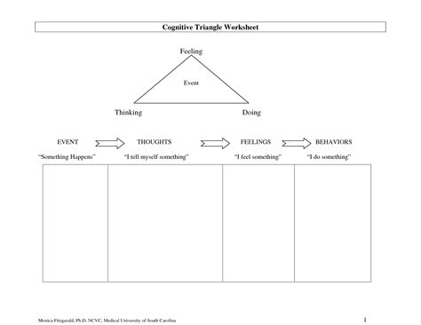 Types of cognitive stimulation activities and techniques. 19 Best Images of Think About It Behavior Worksheet - Student Behavior Think Sheet, Think Sheet ...