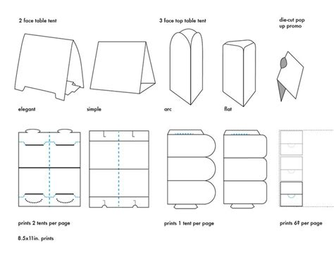 letter size tent card template table tent template cyberuse