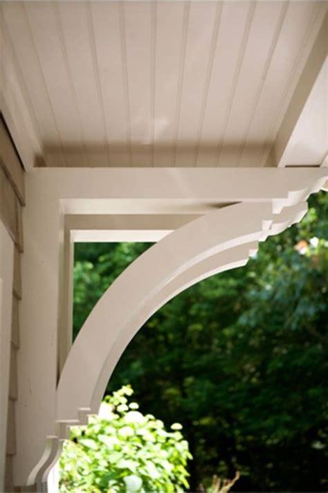 exterior overhang custom brackets custom corbel