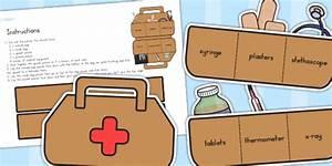 Doctors' Surgery Doctor's Bag - doctors role play, props ...