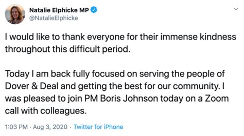 MP wife of disgraced Charlie Elphicke thanks friends for ...
