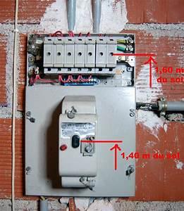 Changer Tableau Electrique : normes r novation tableau lectrique maison branchement ~ Melissatoandfro.com Idées de Décoration