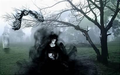 Gothic Dark Wallpapers Theme Goth Fantasy Graveyard