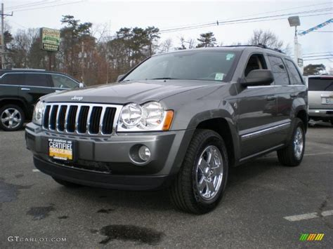 jeep grand cherokee gray 2007 mineral gray metallic jeep grand cherokee limited 4x4
