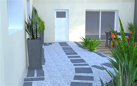 beau idee amenagement exterieur entree maison 1 amenagement entree exterieur pictures to pin