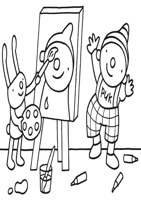 Kleurplaat Puk Ik En Mijn Familie by Kleurplaat Ik En Mijn Familie Puk Ausmalbilder Barbapapa