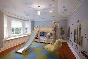 Kronleuchter Für Kinderzimmer : kinderzimmer mit hochbett und rutsche 50 fotos ~ Eleganceandgraceweddings.com Haus und Dekorationen