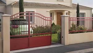 Lapeyre Portail Bois : portail coulissant mod le arpeggio ~ Premium-room.com Idées de Décoration