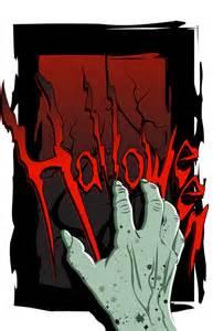 Creepy Halloween Hands Clip Art