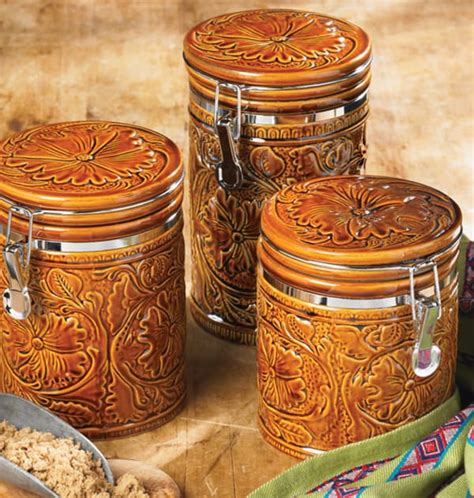 Western Kitchen Canisters by Western Canisters For A S Kitchen Page 5 Of 5