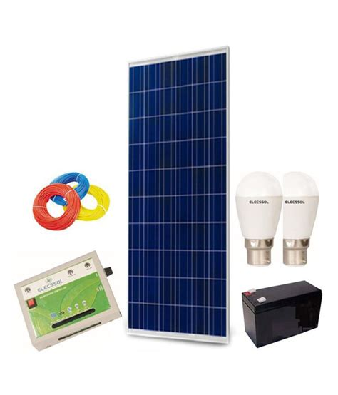 elecssol elecssol solar home lighting system model 1