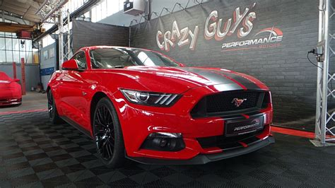 ford mustang gt fastback rouge performance motors