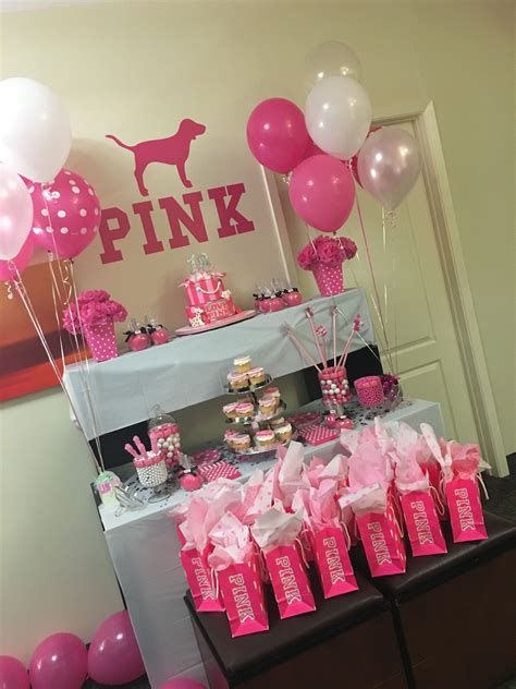 Pink Party …  My Birthday Party Birth…