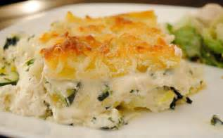 Vegetable Lasagna with White Sauce Recipe