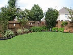 Back Yard Landscaping Ideas Trees