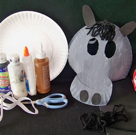 donkey mask donkey mask horse mask paper plate masks