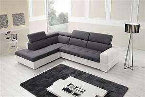 Canapé D Angle : canap d 39 angle h lios cdm salons center ~ Melissatoandfro.com Idées de Décoration
