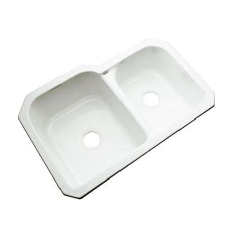 thermocast cambridge undermount acrylic 33 in 0 hole